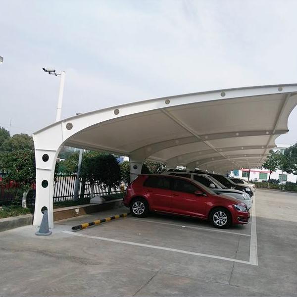 停车棚膜结构