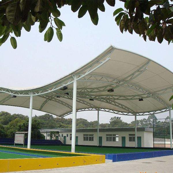 岗亭膜结构