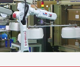 機器人集中應用