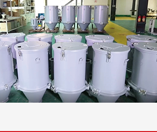 Plastic auxiliary equipment for injection molding machine