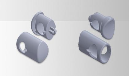 拉鏈頭自動供料剪切包裝生產自動化設備