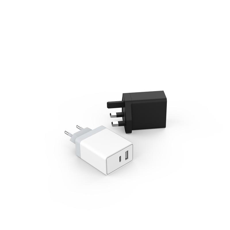 PD 32W Dual USB Multi-national Adaptor PS-552