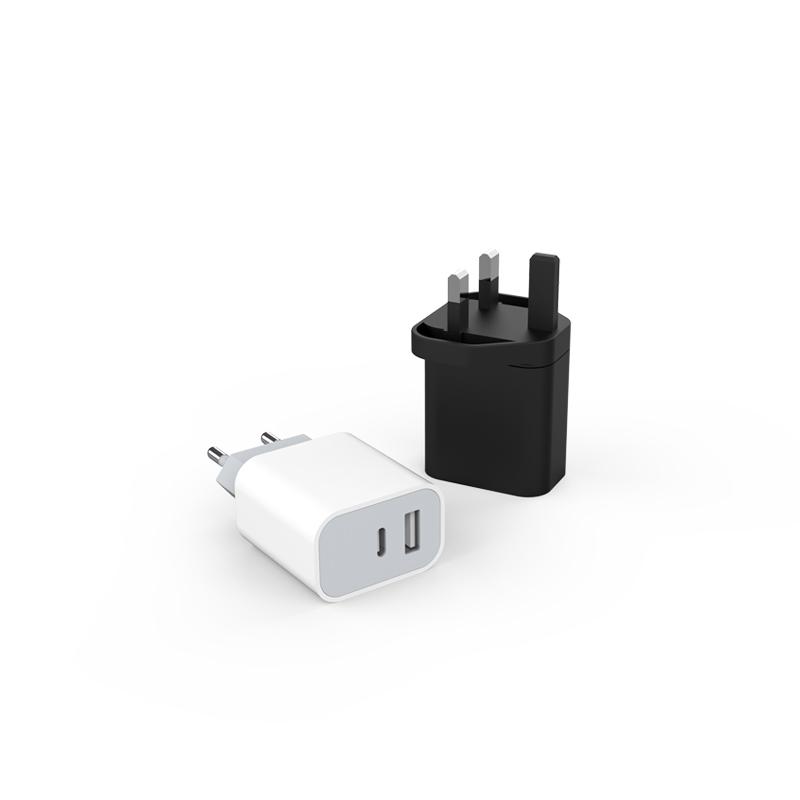 PD 20W Dual USB  Multi-national Adaptor PS-551