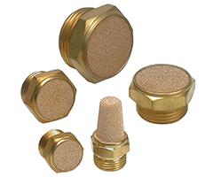 铜质消音器