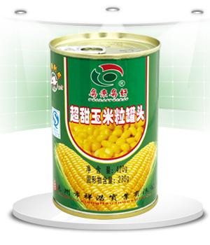 超甜玉米粒罐头