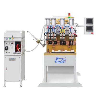 中频点焊机SQ-MF90K+自动螺母输送机