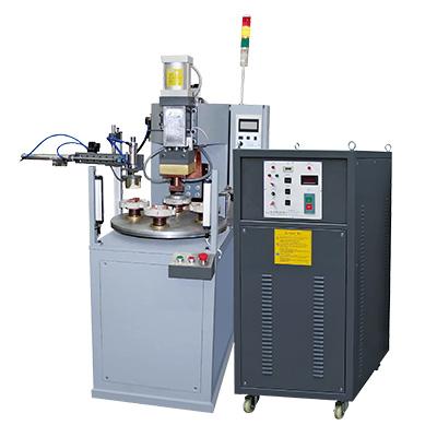 铝块多工位自动旋转焊机