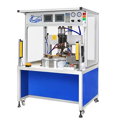 电烫斗导线多工位自动旋转焊机