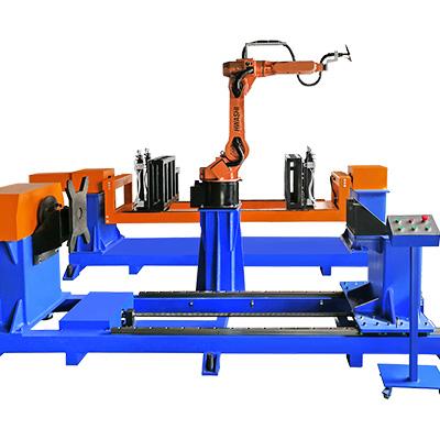 环网柜、高压开关柜焊接机器人工作站