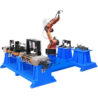 汽车座椅调角器焊接机器人工作站
