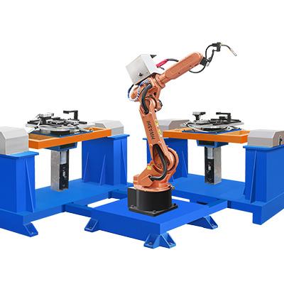 摩托车油桶焊接机器人工作站