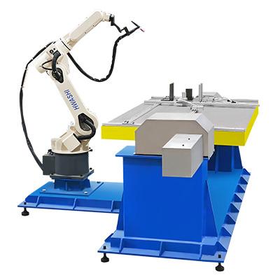 机箱机柜焊接机器人工作站