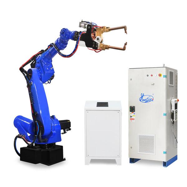 镀锌钢板抽屉点焊机器人工作站
