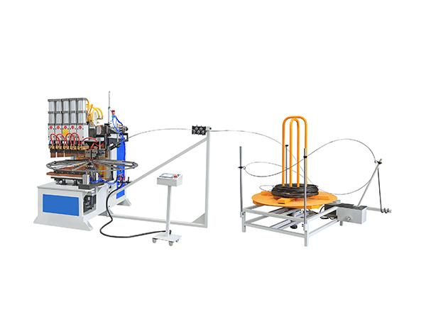 風扇網罩自動繞線焊接專機