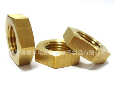 CNC加工 数控车床加工 铜螺母 精密