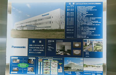 公司总经理张总一行应日本松下电器邀请去日本考察