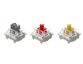 佳達隆黃軸PRO、紅軸PRO、銀軸PRO