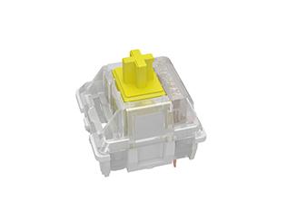 全新GATERON佳達隆KS-9貼片RGB機械鍵盤黃軸體開關鍵圈客制化按鍵