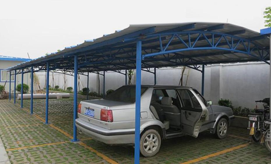 钢结构停车棚