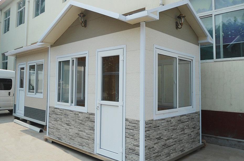 屋顶造型岗亭
