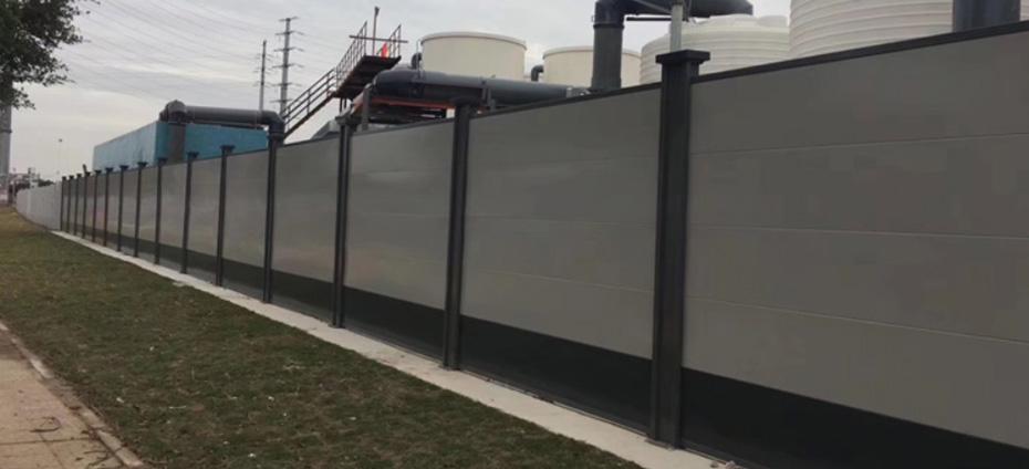 新款钢板围墙