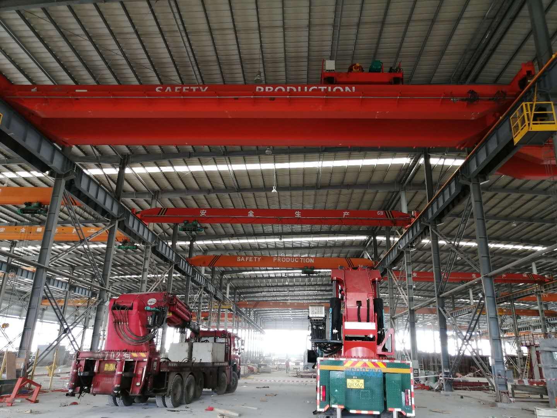 广东昱嘉老客户----有利华32吨吊装完成
