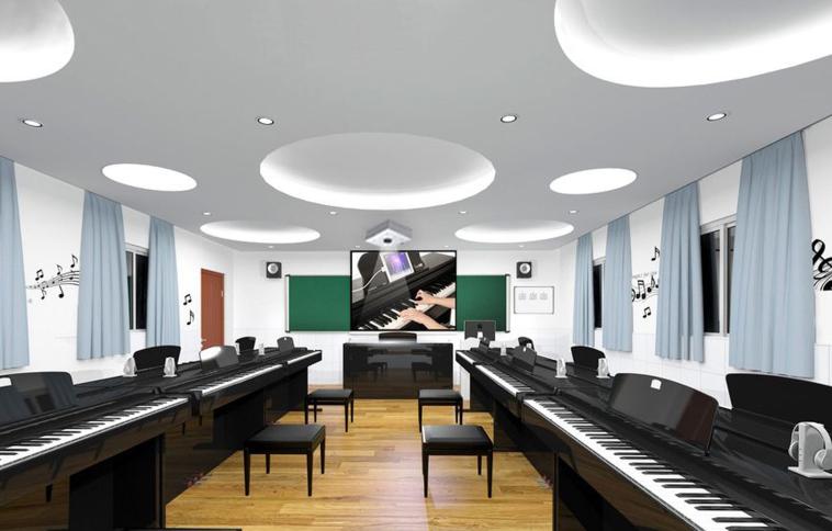 数字音乐电钢琴教室