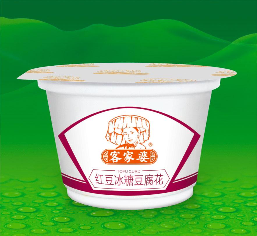 红豆冰糖豆腐花