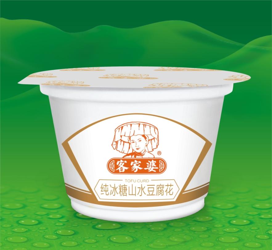 纯冰糖山水豆腐花