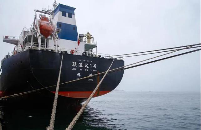 惠州港通用码头内、外贸业务兼营成功开展