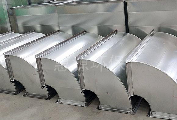 角铁法兰:风管加固规定及要求