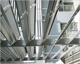 电动单面板遮阳板