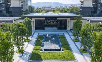 案例 | 厚石砖X金麟府,新中式园林精粹之作
