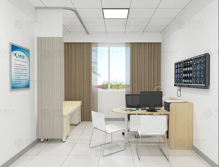 如何做到医院诊室的功能实用性与体验舒适性?闻艺来家具一直在践行