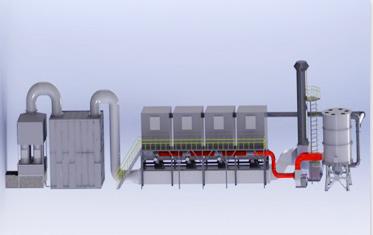 在線活性炭吸附+催化燃燒
