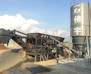 WCB400T-移动式稳定土厂拌设备