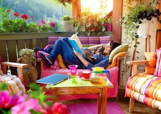 都市丽人爆改阳台,分分钟多出一个花园!