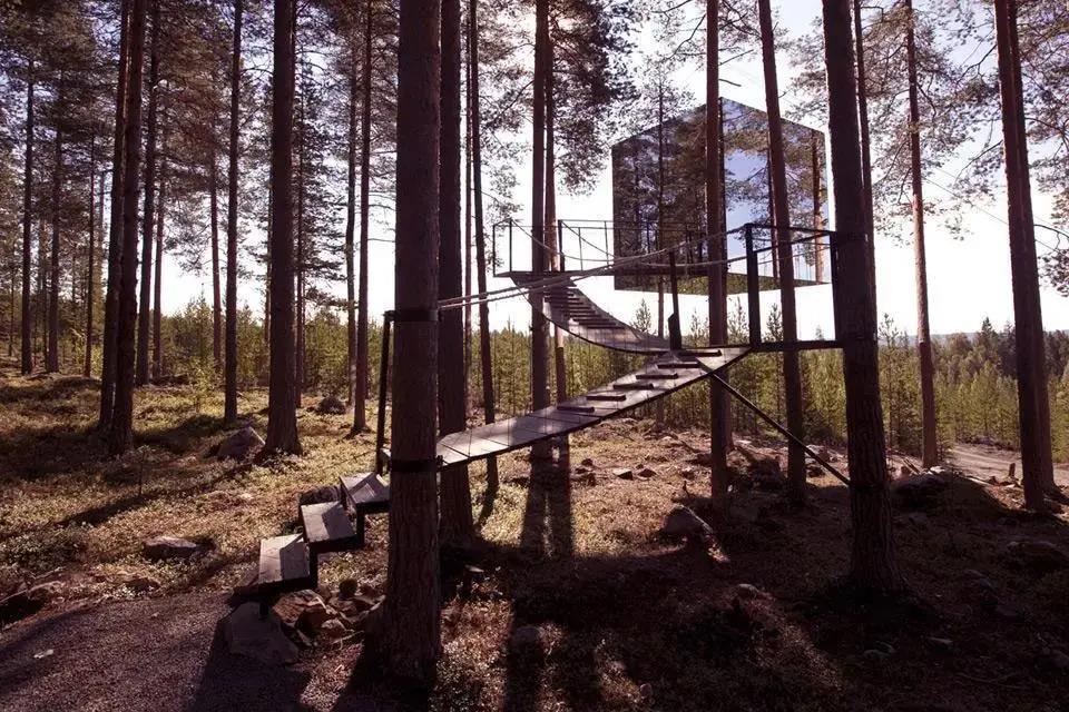 十二处宛若童话般的小木屋,一定令你流连忘返!
