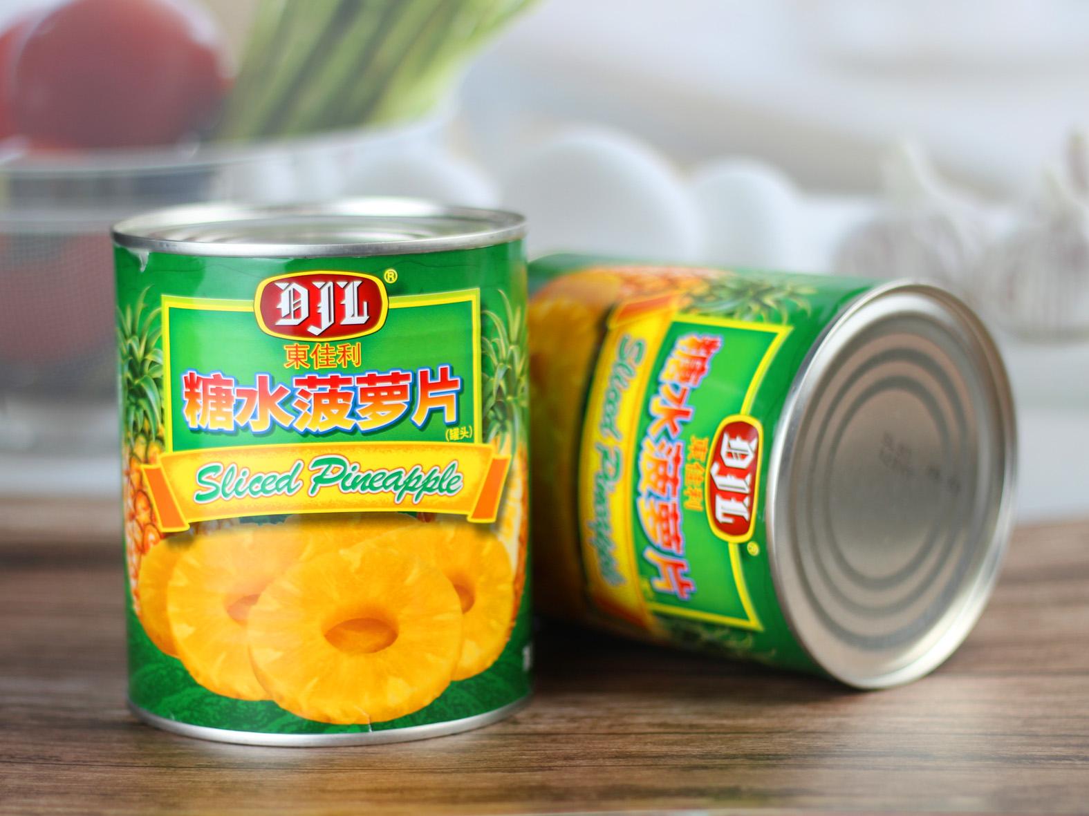 东佳利菠萝片