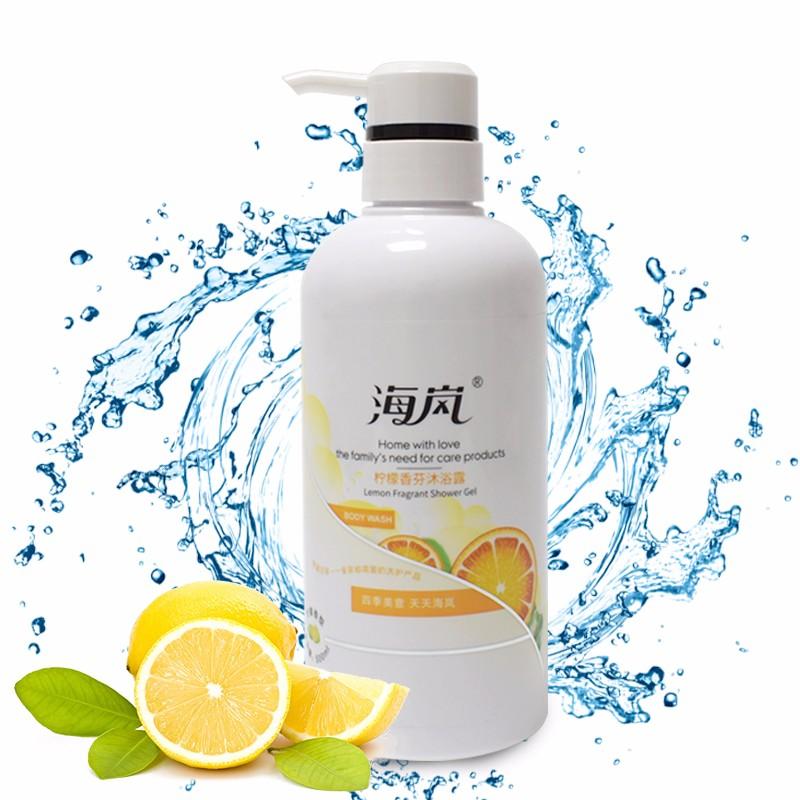 海岚 香氛沐浴露柠檬