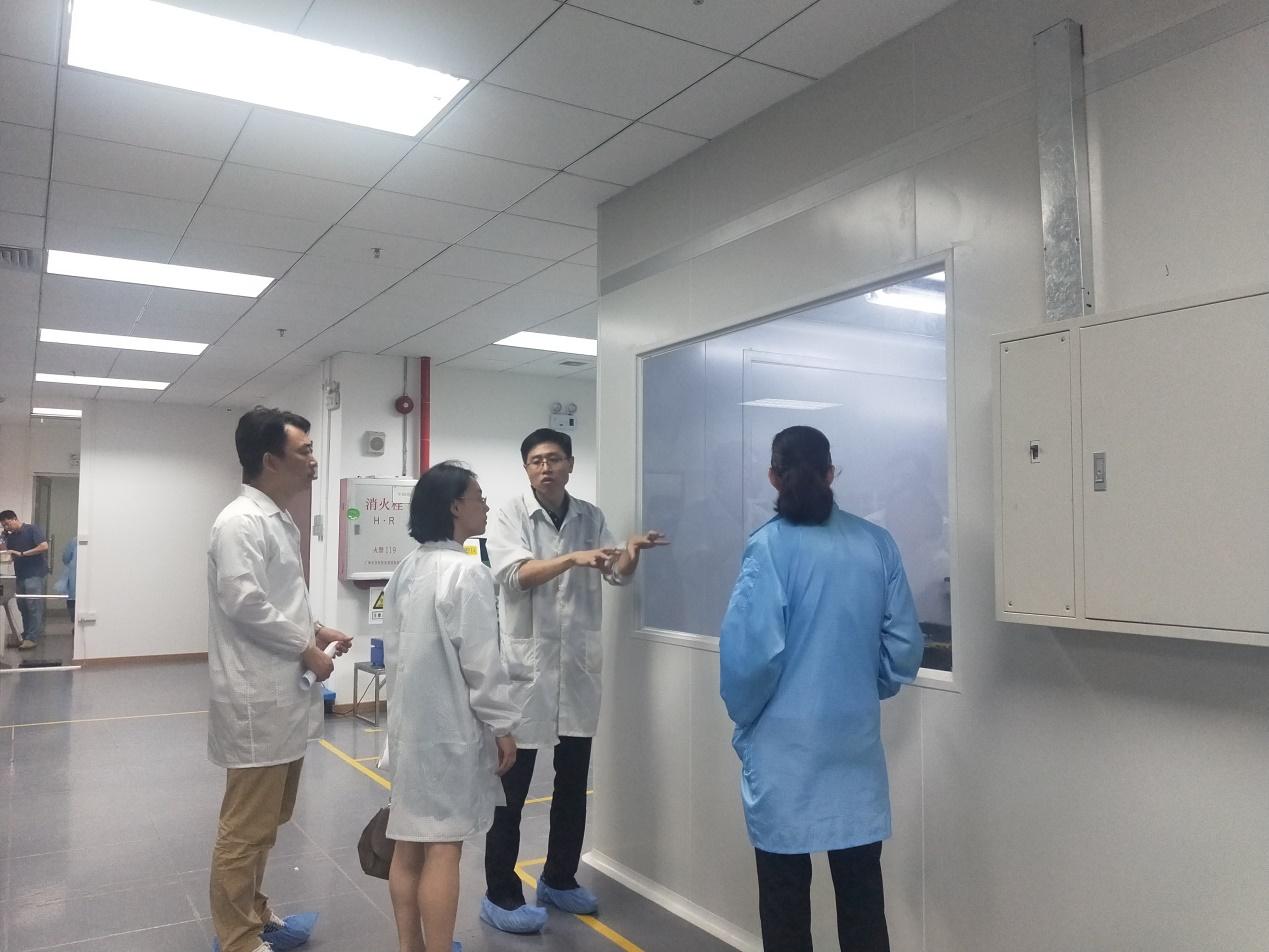 广州市科技局领导莅临程星通信调研